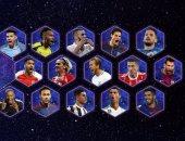 50 لاعبا يتنافسون على التشكيل المثالى للعام فى أوروبا