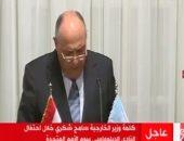 سامح شكرى: مصر تستنكر القرار الأمريكى الأحادى المخالف للشرعية حول القدس