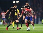 45 دقيقة تفصل أتلتيكو مدريد عن وداع دورى الأبطال بتعادل سلبى مع روما