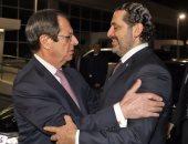 صور.. سعد الحريرى يصل قبرص عقب زيارته للقاهرة