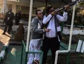 ميدو يمارس هواية الصيد لدعم صديقه محمد الشرقاوى فى الانتخابات