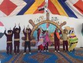 صور.. التجريبية للغات بالقنطرة غرب تنظم احتفالية فى حب مصر