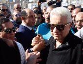 مرتضى منصور لمندوب بانتخابات الزمالك: قم بعملك فقط ولا توجه الأعضاء