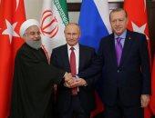 لقاء محتمل بين بوتين وروحانى وأردوغان لبحث الوضع فى سوريا