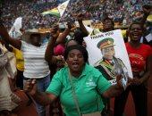صور.. الآلاف يحتفلون بزيمبابوى بعد تنصيب منانجاجوا رئيسا للبلاد