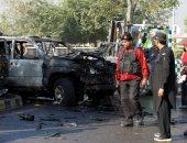 مقتل شخصين وإصابة 3 آخرين من قوات الأمن الباكستانية فى انفجار قنبلة