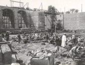 شاهد 18 صورة ترصد مراحل بناء قناطر أسيوط القديمة بعد 115 عاما خدمة