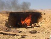 صور.. المتحدث العسكرى يعلن مقتل تكفيريين وتدمير 6 دراجات نارية بوسط سيناء