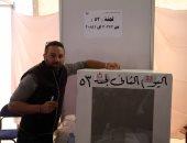 صور وفيديو.. حازم إمام يدلى بصوته فى انتخابات نادى الزمالك