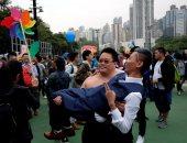 """صور.. انطلاق """"موكب الفخر"""" لمثلىّ الجنس فى الصين"""