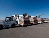 مركز الملك سلمان للإغاثة يوزع سلال غذائية على النازحين السوريين بريف حماة