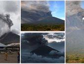 """ثورة بركان جبل """"ماونت أجونج"""" فى جزيرة بالى الإندونيسية"""