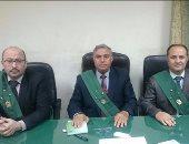 تأييد حبس 42 أمين شرطة من تأمين الطرق برأس غارب لمدة سنة بتهمة التظاهر