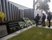 صور.. تشييد نصب تذكارى فى الهند لضحايا هجوم مومباى