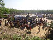 احتجاجات للاجئى الروهينجا فى بنجلادش على خطط إعادتهم إلى ميانمار