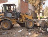 رئيس مركز ومدينة المحلة الكبرى يحرص على حملات النظافة لقرى المحلة الكبرى