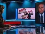 """وزير الخارجية يكشف كواليس حواره مع شبكة """"CNN"""""""