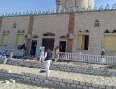 افتتاح مسجد الروضة ببئر العبد للصلاة بعد أيام من إغلاقه بسبب الحادث الإرهابى