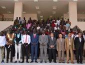 سفير جمهورية جنوب السودان يزور جامعة السويس