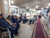 نادى الجالية المصرية فى مسقط يقيم عزاء لشهداء مسجد الروضة