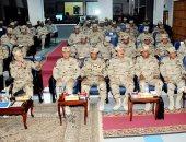 القوات المسلحة تنظم ندوة تثقيفية بجامعة عين شمس لتنمية روح الانتماء