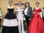 """صور.. المصممة اللبنانية ريما بحصيلى تقدم عرض أزياء من """"اليوم السابع"""""""