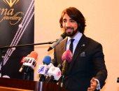 صور.. بدء المؤتمر الصحفى لهانى البحيرى للإعلان عن تفاصيل مجموعة صيف 2018