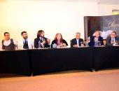 صور.. هانى البحيرى يكشف كواليس مجموعة صيف 2018 خلال مؤتمر صحفى
