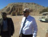 صور.. محافظ أسوان يواصل جولاته الميدانية بأبوسمبل استعداداً لاحتفالية الرئيس