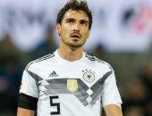 تقارير: الإصابة تبعد هوملز عن سوبر دورتموند ضد بايرن ميونخ