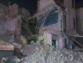انهيار منزلين بمدينة البدارى فى أسيوط دون إصابات