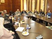 رئيس جامعه طنطا يجتمع بمنسقى الأنشطة الطلابية بكليات الجامعة