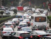 زحام مرورى بمحيط جامعة القاهرة وكوبرى 15مايو بسبب زيادة الأحمال