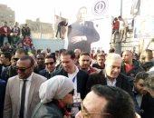 صور.. هانى زادة يدعم الأيوبى فى انتخابات نادى الترسانة