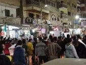 صور وفيديو.. مسيرة بكفر الشيخ للمطالبة بإعدام قاتل ضابط المرور