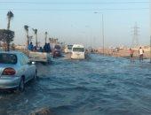 """استجابة لصحافة المواطن.. """"مياه القاهرة"""" تؤكد إصلاح كسر ماسورة المطرية"""