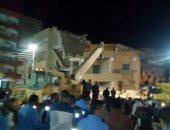 انهيار منزل قديم بقرية شطورة سوهاج دون وقوع إصابات