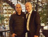 شاهد.. صور حسام حسن مع رئيس الفيفا ونجوم العالم فى روسيا