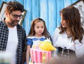 صور.. وليد منصور يحتفل بعيد ميلاد ابنته بحضور تامر حسنى ونجوم الفن