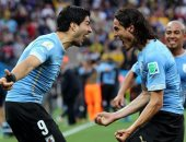 سواريز وكافانى يسجلون 104 أهداف لمنتخب الأوروجواى