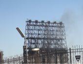 البترول: السيطرة على حريق بشركة السويس..  وجارى إعادة تشغيل المجمع