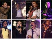 نجوم التسيعينات يتألقون من جديد فى حفل القرن باستاد القاهرة