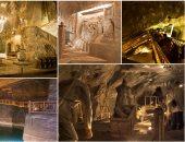 """لو غاوى سياحة.. كل ما تريد معرفته عن قصر الملح  """" Wieliczka"""" ببولندا"""