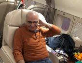 فيديو.. موقع إماراتى ينشر لحظة مغادرة أحمد شفيق أبو ظبى عائدا للقاهرة