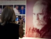 صور.. افتتاح معرض صور للرئيس الكوبى السابق فيدل كاسترو فى هافانا