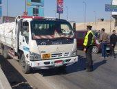 شرطة مرور الجيزة تضبط 375 مخالفة متنوعة بقطاع أكتوبر