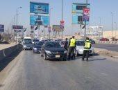 تحرير 1302 مخالفة مرورية فى حملة مكبرة بكفر الشيخ