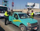 """""""المرور"""" تتصدى لإرهاب الموتوسيكلات وتضبط 1212 مركبة مخالفة بالمحافظات"""