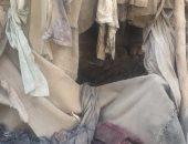 صور.. فتاة معاقة وشقيقها يعيشان داخل حفرة وغرفة مظلمة بسوهاج منذ 15 عامًا