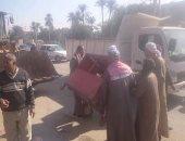 إزالة 82 حالة إشغال لباعة جائلين بشوارع وميادين بنى سويف
